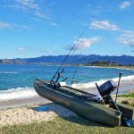S4 seaworthy microskiff for offshore fishing, Hawaii