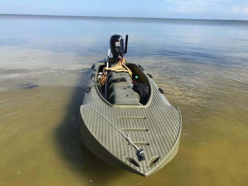 Wavewalk S4 flats boat, Florida