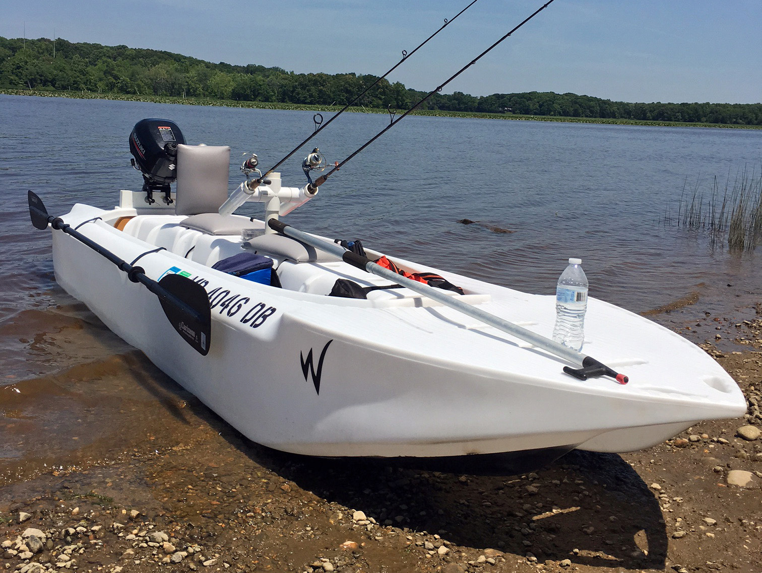 Wavewalk S4 skiff, Maryland