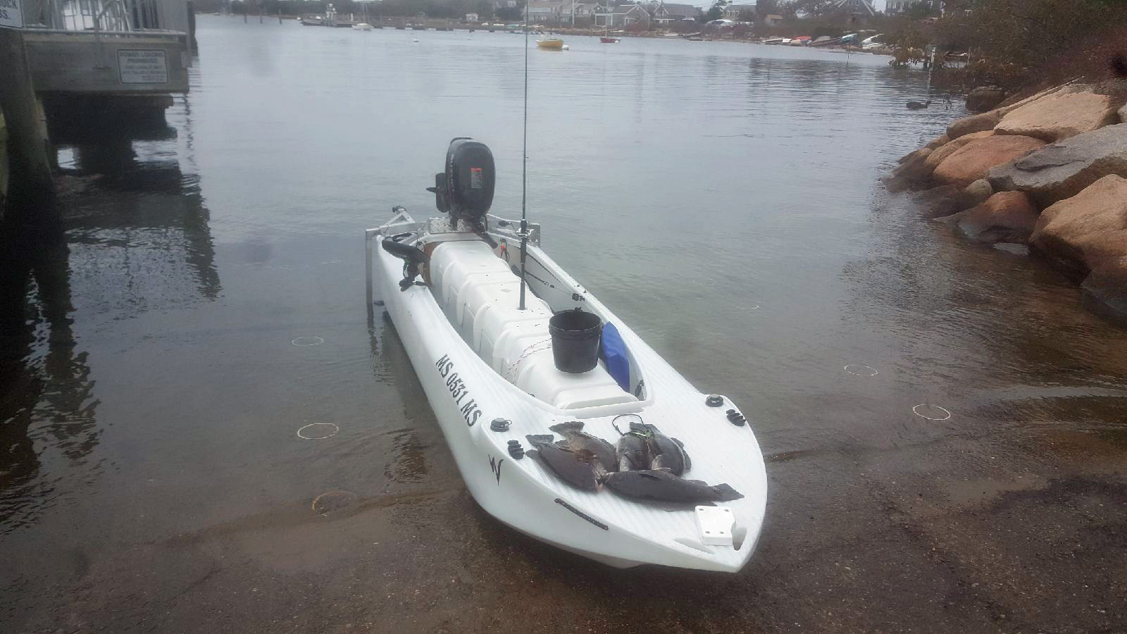 Wavewalk S4 offshore microskiff - Massachusetts