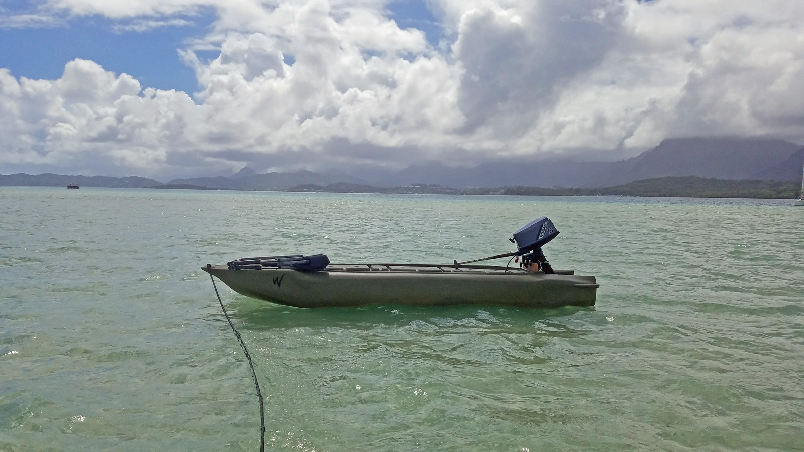 Wavewalk S4 skiff, Hawaii