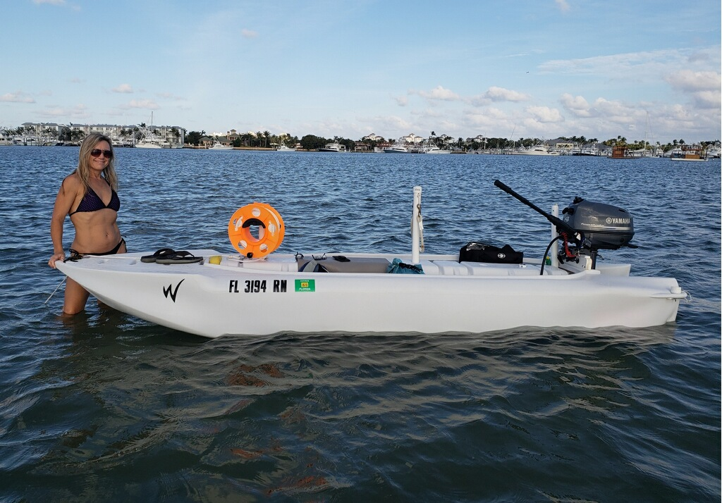 S4 skiff in offshore trip, Florida